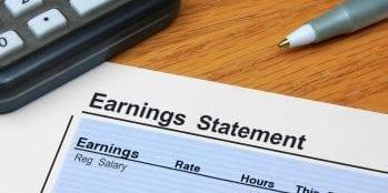 Earnings Statement