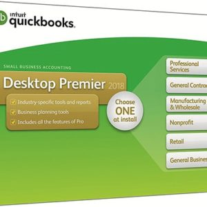 QuickBooks Desktop Premier 2018