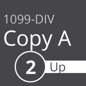 1099-DIV Copy A - 2 Up