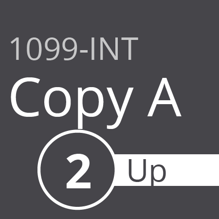 1099-INT Copy A 2 up