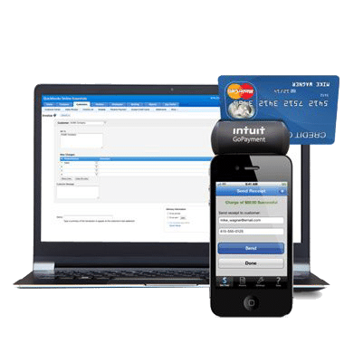 QuickBooks & Gopayment mobile