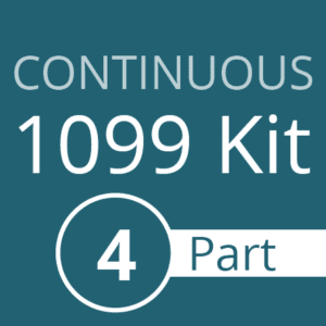 Continous 1099 Kit - 4 part