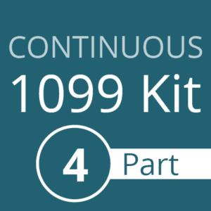 Continous 1099 Kit - 4 part
