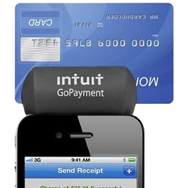 Intuit Gopayment credit card swipe