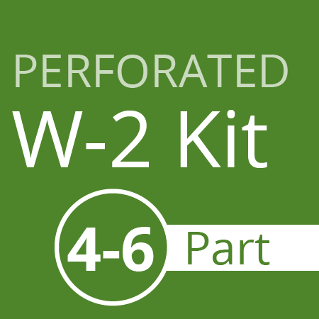 Perforated W2 Kit - 4-6 part