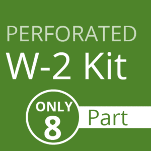 Perforated W2 Kit (only 8 part)