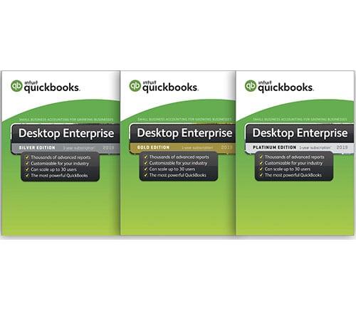 Quickbooks Enterprise 2019 boxes
