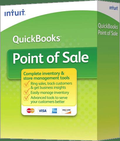 QuickBooks Point of Sale box