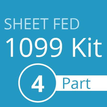 Sheet Fed 1099 kit - 4 part