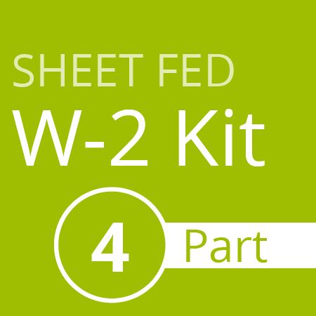 Sheet Fed W2 Kit (4 part)