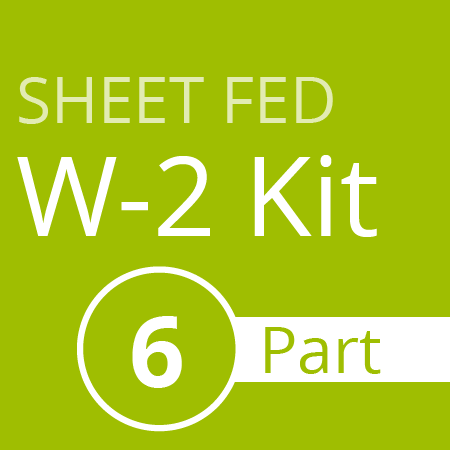 Sheet fed W2 Kit (6 part)
