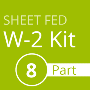 Sheet Fed W2 Kit (8 part)
