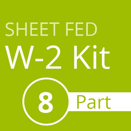 Sheet Fed W2 Kit (8 part)