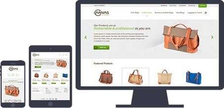 3D cart example website