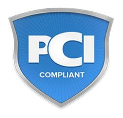 PCI Compliant badge