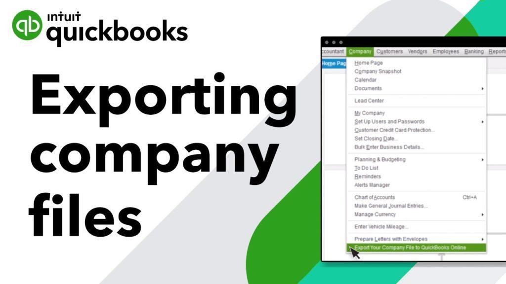 Convert from QuickBooks Desktop Enterprise to Quickbooks Online.